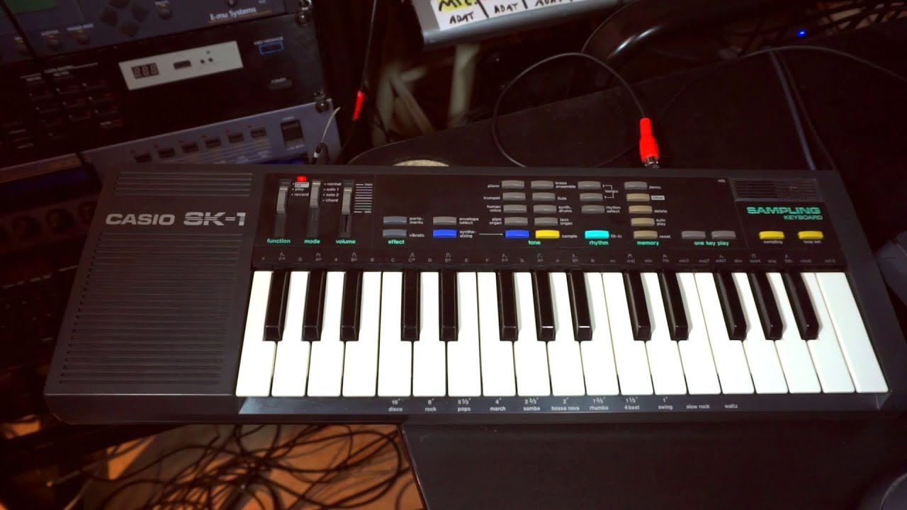Casio SK-1 - Is a full production possible with only this?