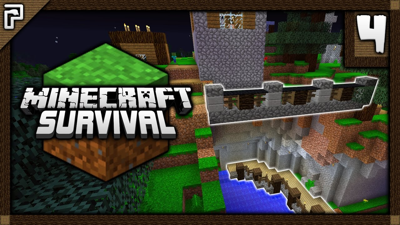 💎 NEW Minecraft Village Project! Saving Villagers! | Let's Play Minecraft  Survival 1 12