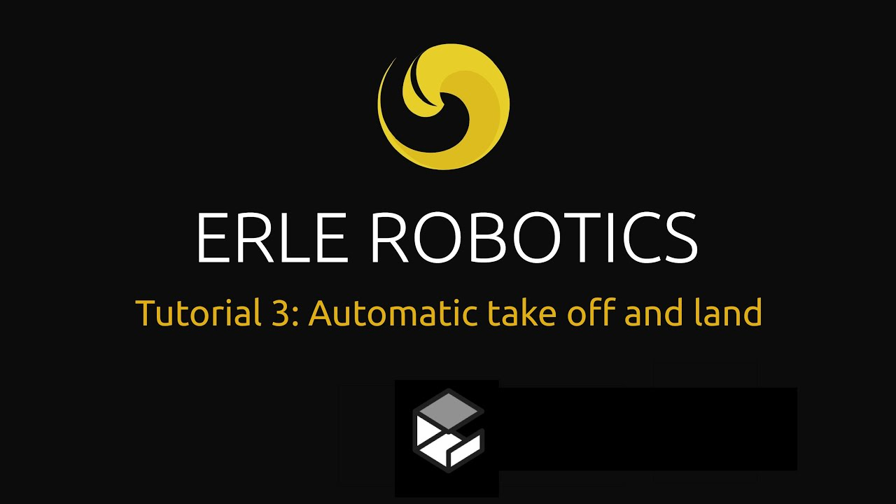 Automatic take off and land | Erle Robotics Docs