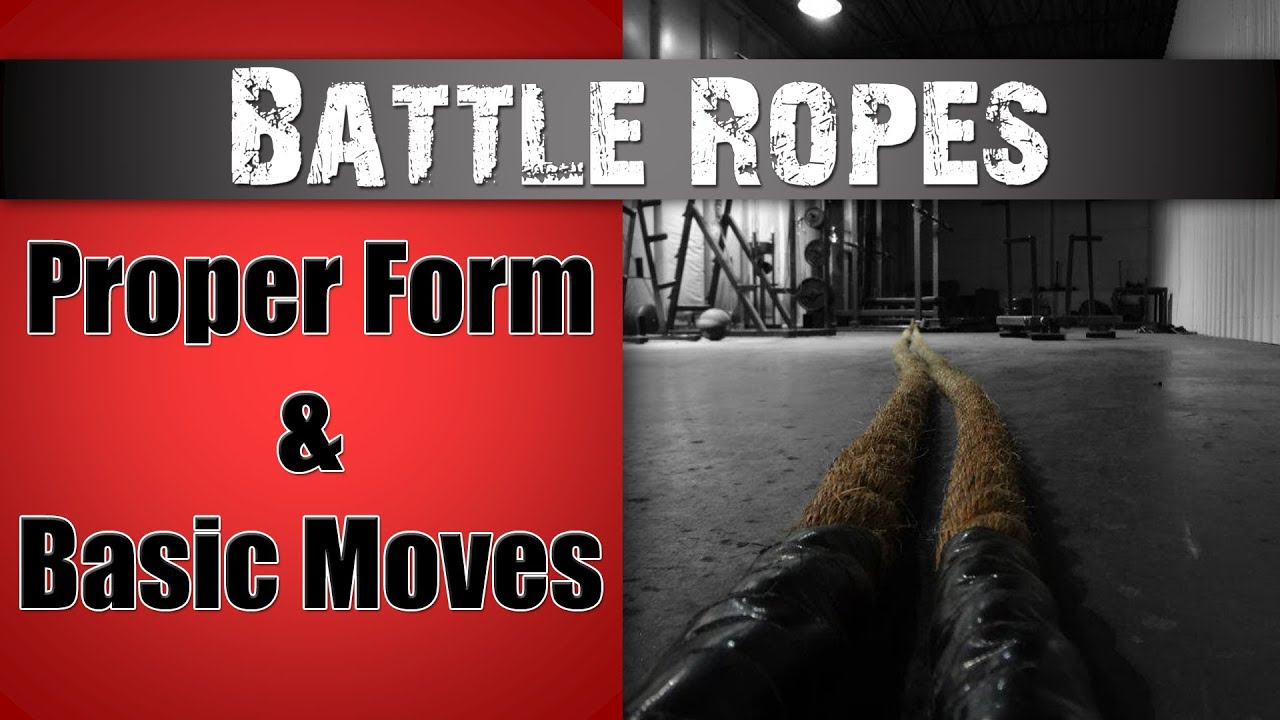 Battle Ropes, and the Powerful Strength Workouts You Can Do with Them