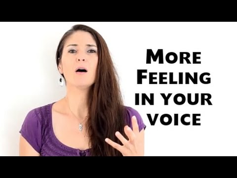 Freya's Singing Tips: How to put MORE FEELING into your voice