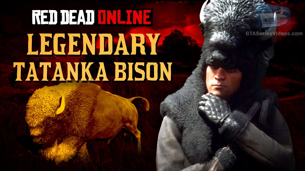Red Dead Online - Legendary Tatanka Bison Location [Animal Field Guide]