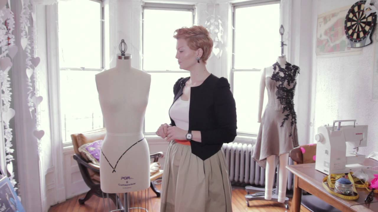 Simple Way to Make a Dress Form : Fashion Design & Simple Styles ...