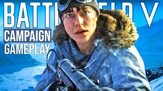 Sniping + Stealth Gameplay Battlefield 5 Single Player Campaign