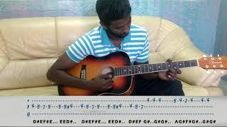 Ni Sa Ri Sa Jeans Theme on guitar Ar Rahman