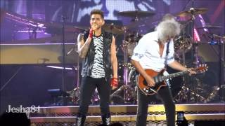 Queen ft. Adam Lambert - Crazy Little Thing Called Love - New York City, NY 7/17/14