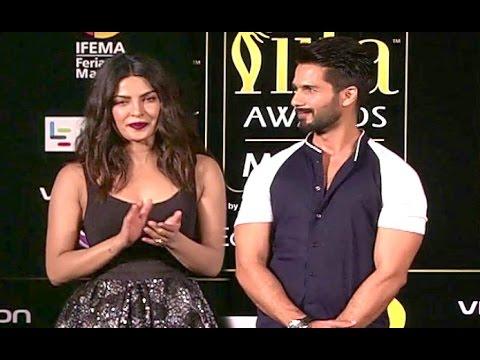 IIFA Awards 2016 SHOCKING VIDEO: Priyanka Chopra Totally Ignores Shahid Kapoor On Stage!