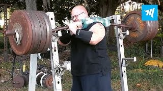 Craziet Powerlifting - Bud Jeffries | Muscle Madness