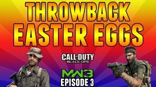 """Throw Back Easter Eggs - Ep.3 """"Dome, Hardhat, Seatown"""" (MW3 Call of Duty)"""
