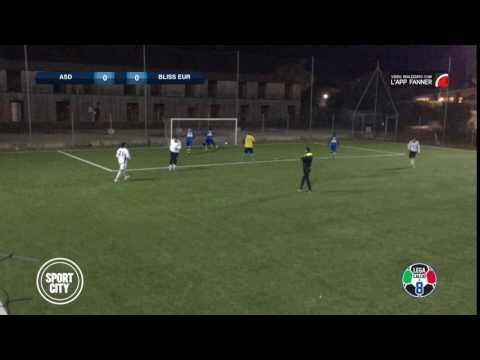 Atletico Asl 2-3 Bliss Eur | Serie B Sport City - 8ª | Top Gol - Lana (BLE)