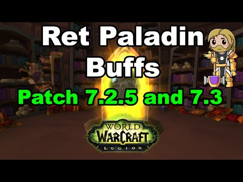 Ret Paladin Buffs Announced for Next Week!