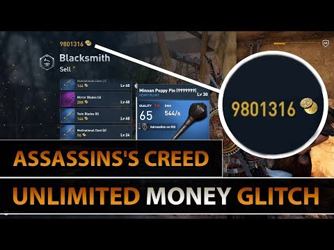 Assassin's Creed Origins - Unlimited Money Glitch ( Duplicate Weapons ) PC/PS4/XBOX One