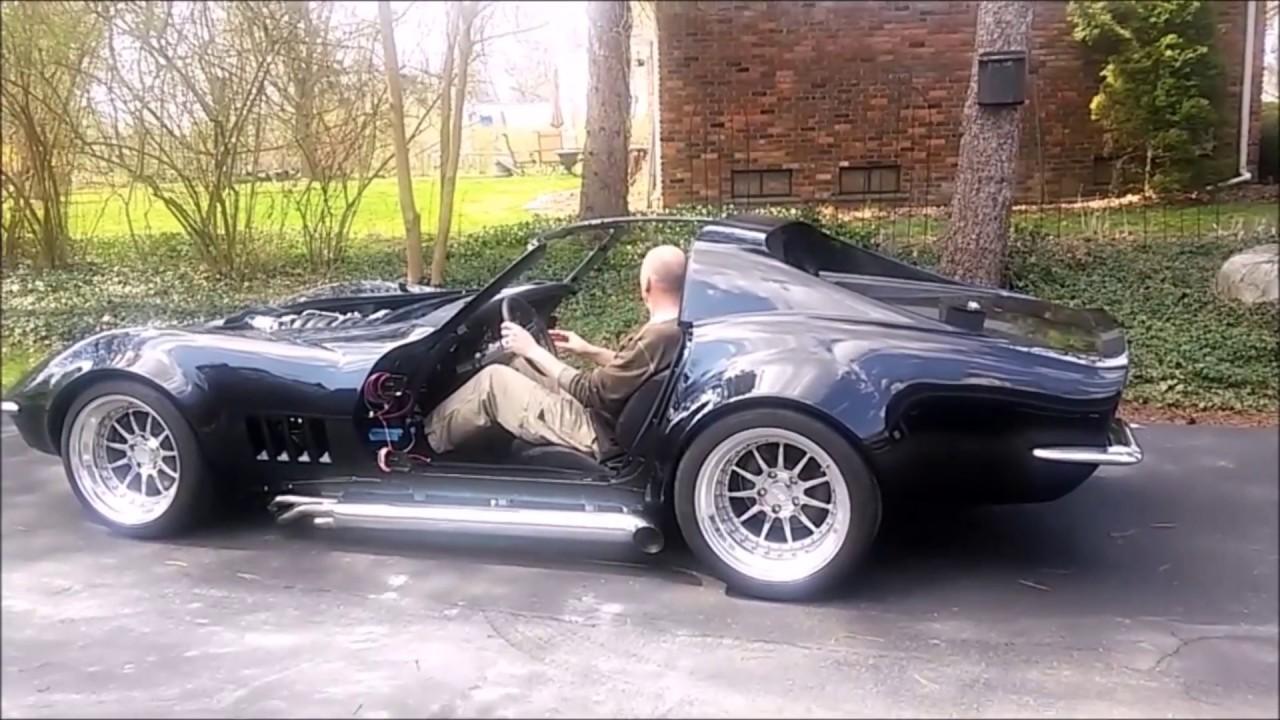 1977 Corvette For Sale >> C3 Corvette Restomod Pro Touring - 1st Drive - YouTube