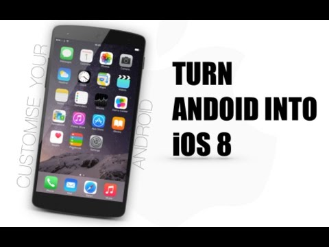TURN ANY ANDROID INTO AN IPHONE | TechGeniet3g