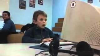 Мальчик первый раз увидел порнушку