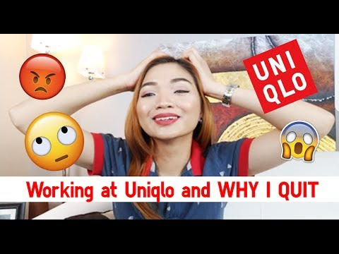 WORKING FOR UNIQLO AND WHY I QUIT | Storytime