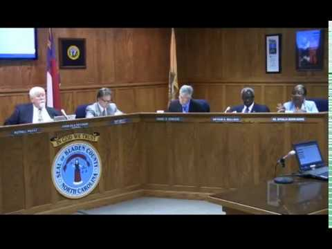 Bladen County Board of Commissioners FY: 2017-18 Budget Meeting