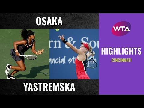 Naomi Osaka vs. Dayana Yastremska | 2020 Cincinnati Third Round | WTA Highlights
