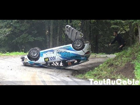Best of Rallye Rally Crash & Mistakes 2018 by ToutAuCable