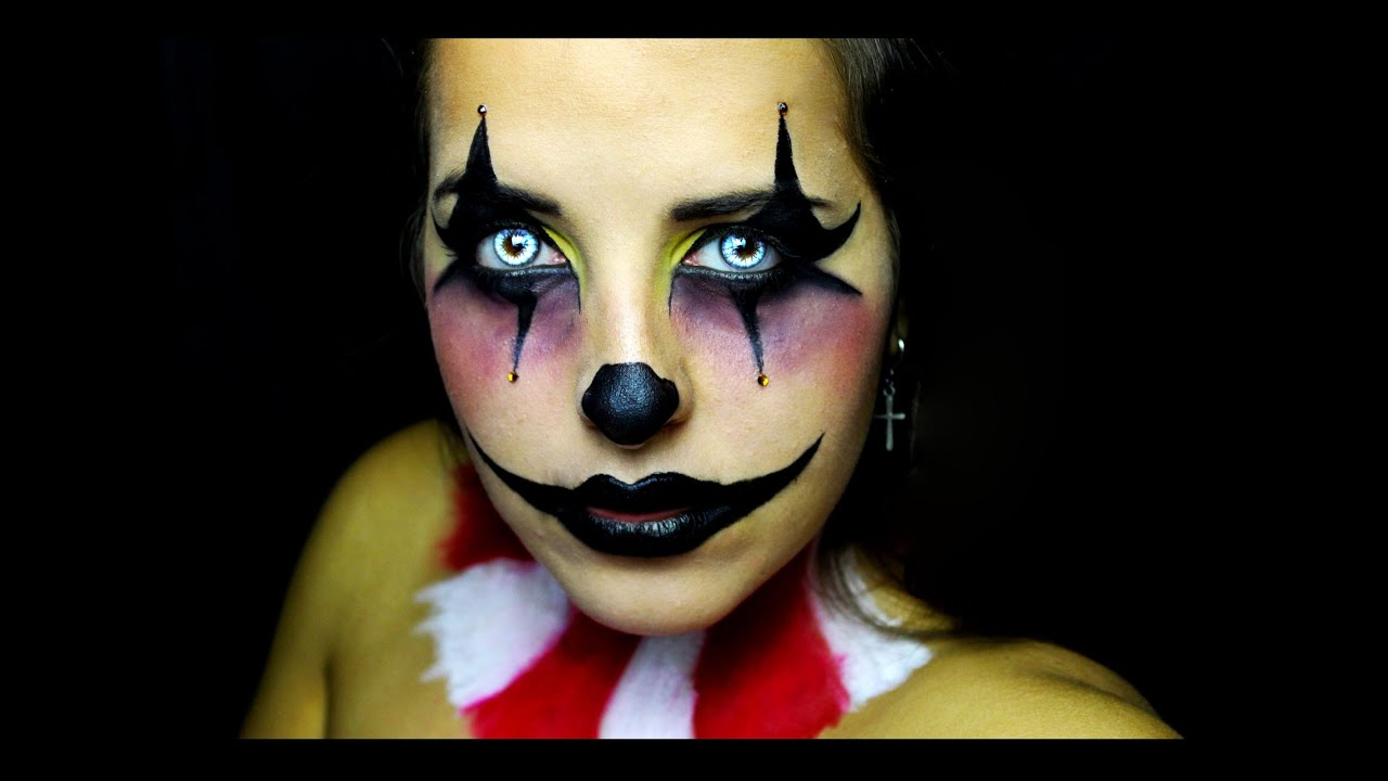 The MIME - MakeUp for HALLOWEEN - YouTube