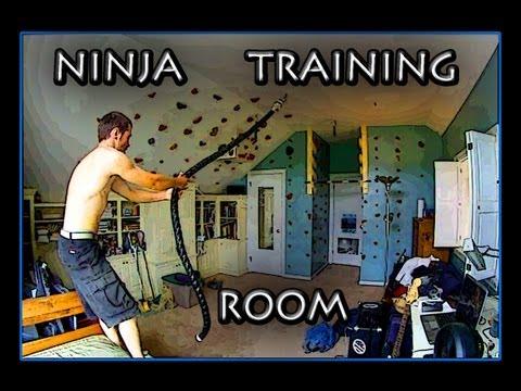 Ninja Warrior Training Room
