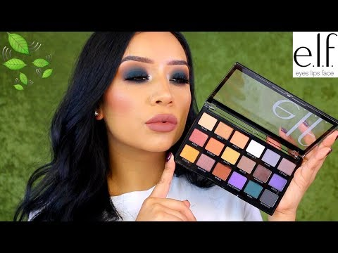 DRUGSTORE FALL MAKEUP TUTORIAL   e.l.f OPPOSITES ATTRACT PALETTE