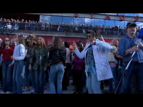 euronews (en español): Estocolmo rinde homenaje al DJ Avicii