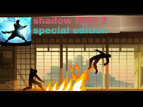 How to download shadow fight 2 special edition for free in Telugu🥀