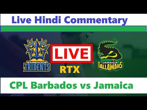 Live Streaming Barbados Tridents Vs Jamaica Tallawahs, Match Cpl Live Cricket Match Today BT Vs JT