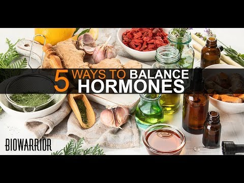 5 Steps to Balance Hormones Naturally