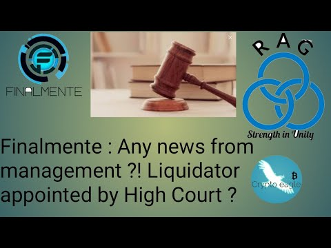 Finalmente: No latest news from management?! Liquidator appo