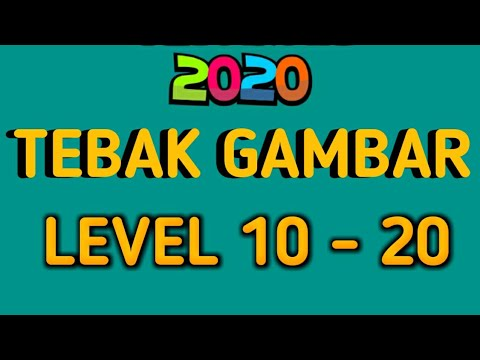 Jawaban Tebak Tebakan 2020 Tebak Gambar Level 10 20 Youtube