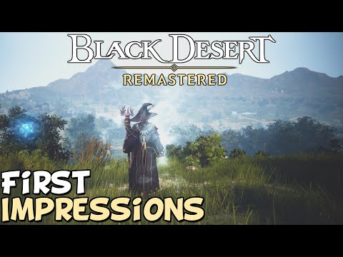 """Black Desert Online 2020 First Impressions """"Is It Worth Playing?"""""""