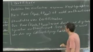 23 Schlüsselverteilung und Zertifikate