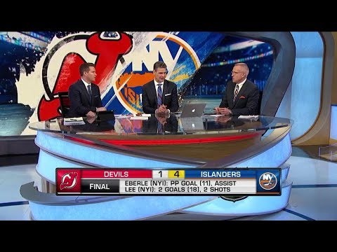 NHL Tonight  discusses the Islanders recent success  Jan 17,  2019