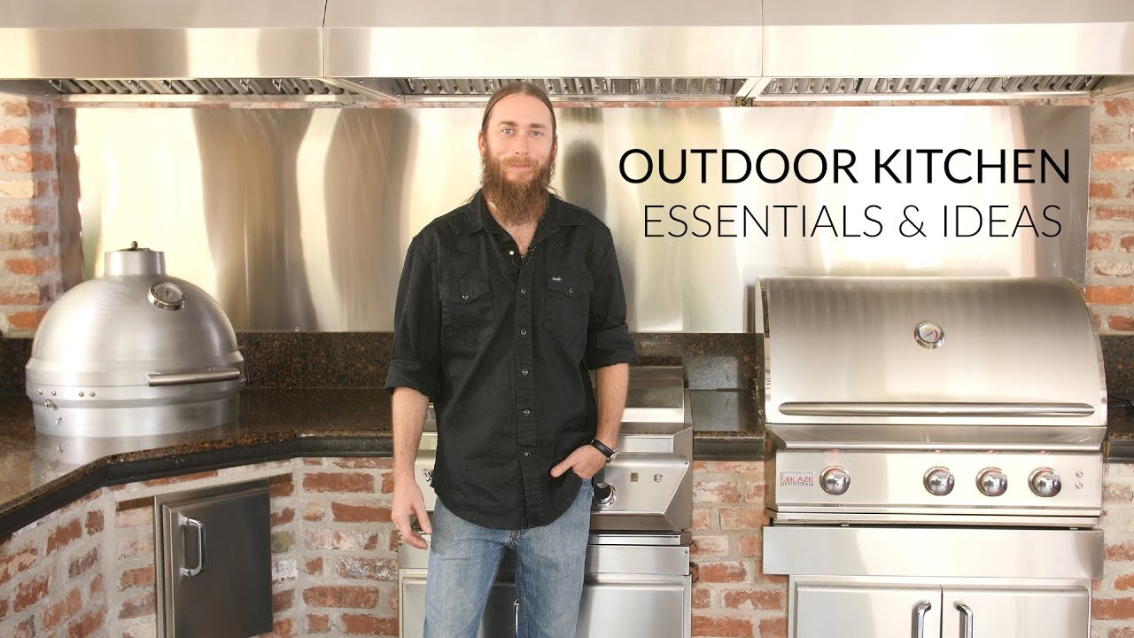 Outdoor Kitchen Building Essentials Designs To Consider Bbqguys Com Youtube