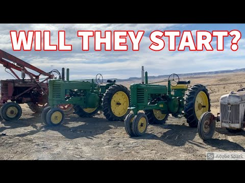 OLD TRACTOR FIX-A-THON SPECIAL - WILL THEY START???