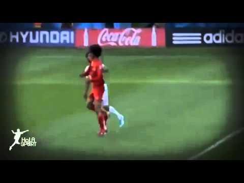 Belgium vs Algeria 2 1 All Goals & Highlights   World Cup   2014