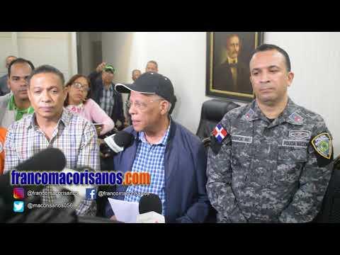Gobernador Juan Antigua activa comité de emergencia en SFM por Beryl