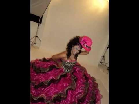 Maquillajes y peinados para xv a os y novias 2 youtube - Peinados de novia modernos ...