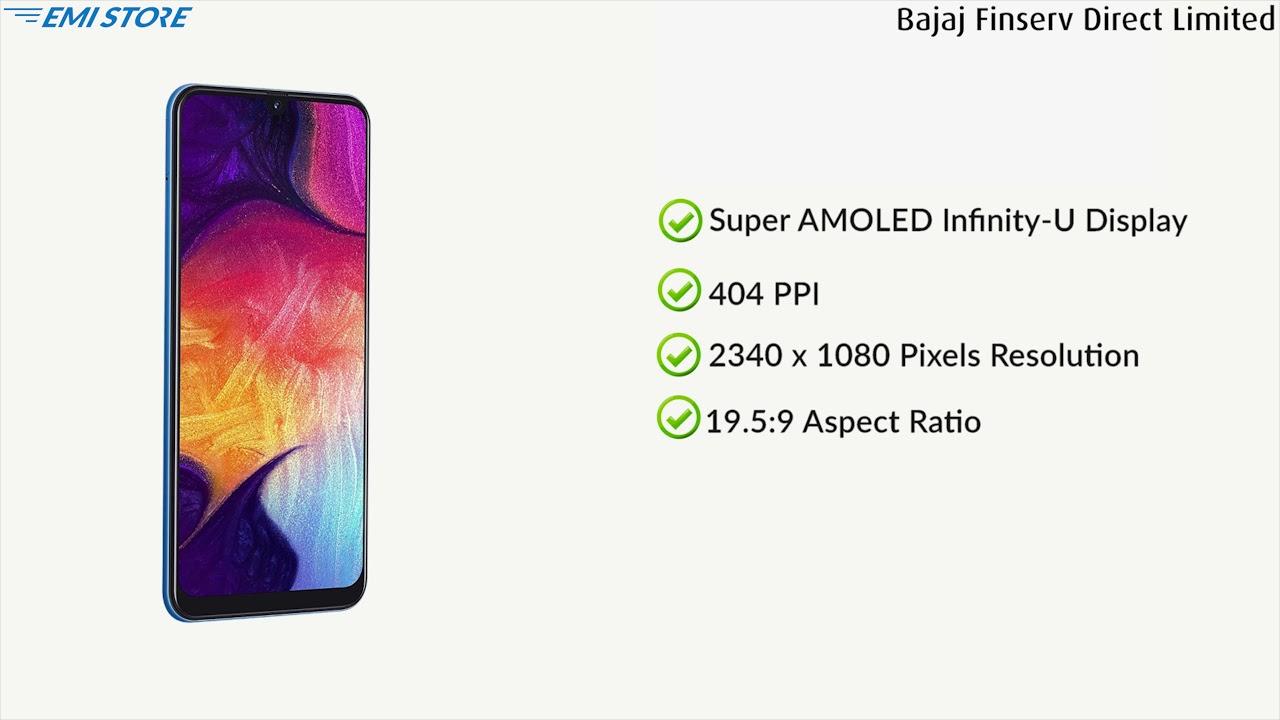 Samsung Galaxy A50 64 GB Black (4 GB RAM)