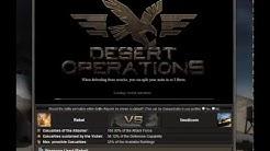 Desert Operations Game Walkthrough