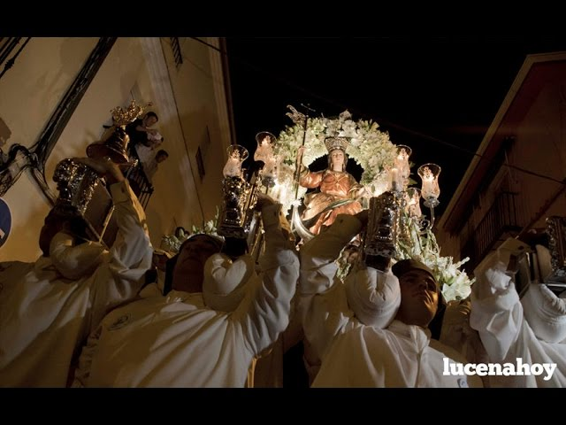 Vídeo noticia: La procesión de la Virgen de la Aurora 2016
