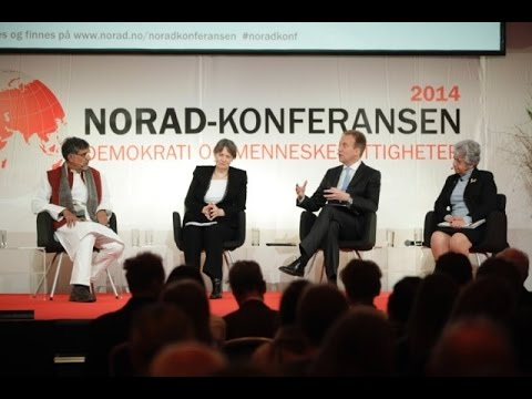 Interview with Nobel Peace Prize laureate Kailash Satyarthi - Norad Conference 2014