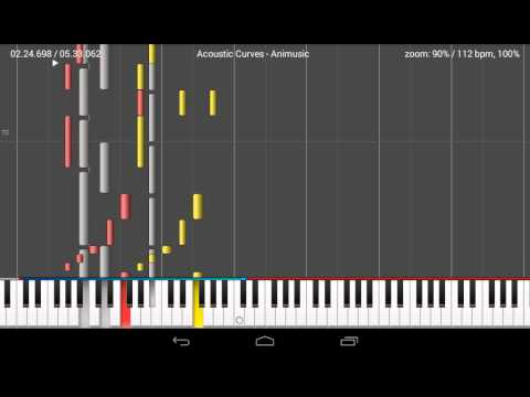 (MIDI) Acoustic Curves - Animusic