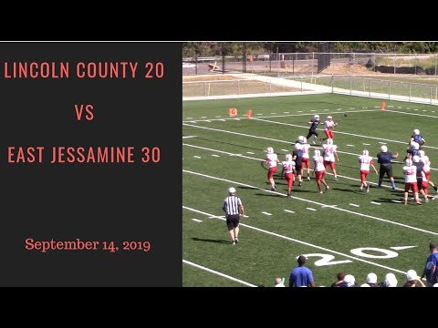 Lincoln County Middle School vs East Jessamine Middle School on September 14, 2019