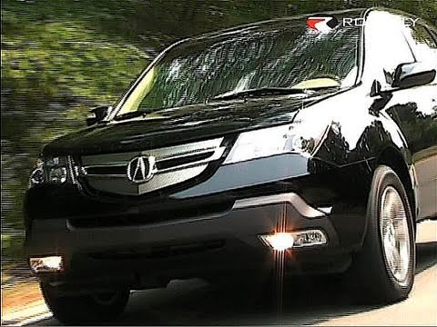 Roadfly.com - 2007 Acura MDX - YouTube