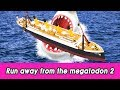 EN Run Away From The Megalodon 2 Animals Animation Animals For Kids CollectaㅣCoCosToy mp3