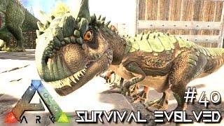 ark survival evolved baby allosaurus season 4 s4 e40 ark gameplay