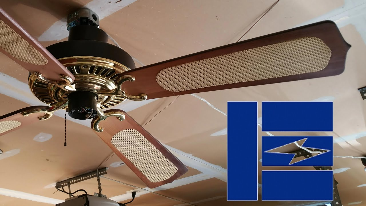 Emerson 1895 Series Ceiling Fan